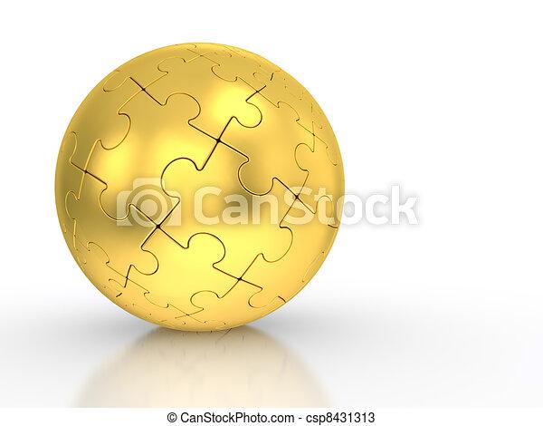 spherical puzzle - csp8431313