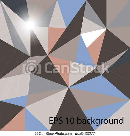 Abstract vector background. Eps 10. - csp8433277