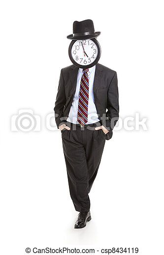 Anonymous Businessman - Relaxed - csp8434119