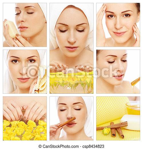 Hygiene and skin care - csp8434823