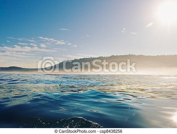 California Coast at Sunrise - csp8438256