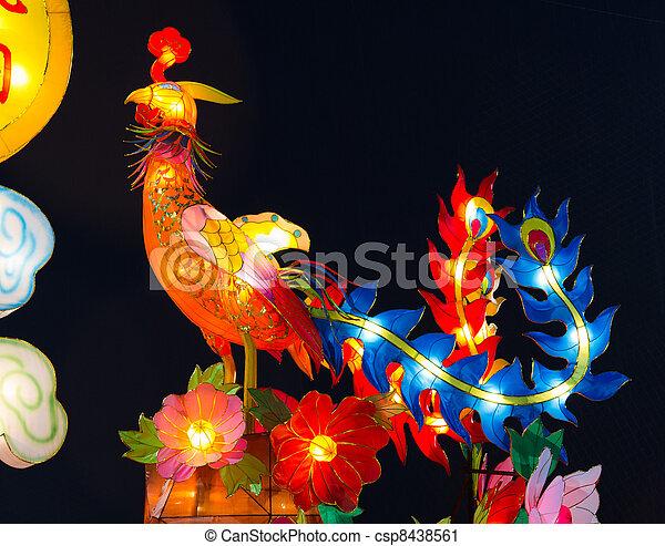 Mythical immortal phoenix