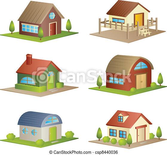 Houses - csp8440036