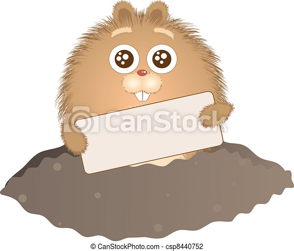 Groundhog Day - csp8440752