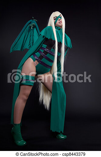 green fury cosplay costume anime character - csp8443379