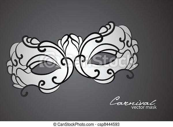 Carnival mask - csp8444593