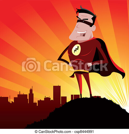 Super Hero - Male - csp8444991