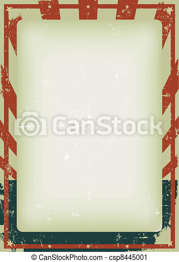 Fourth Of July Vintage Poster - csp8445001