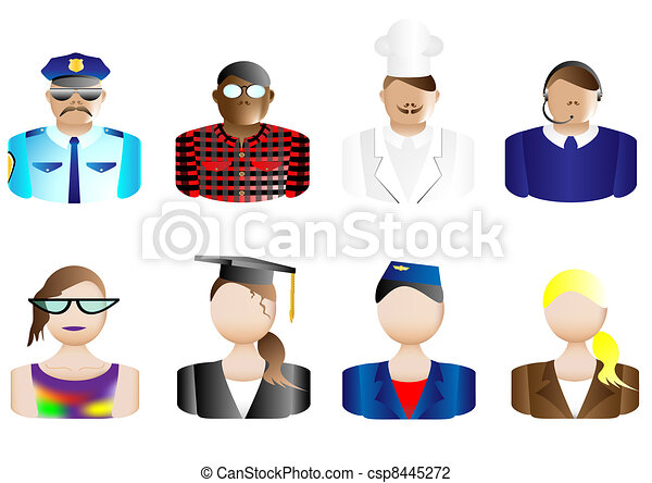 Occupations, Avatars & User Icons - csp8445272