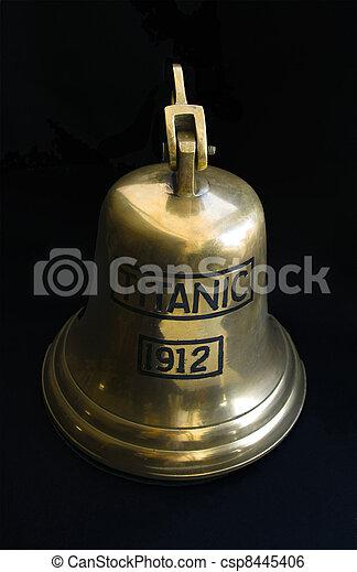 titanic bell - csp8445406