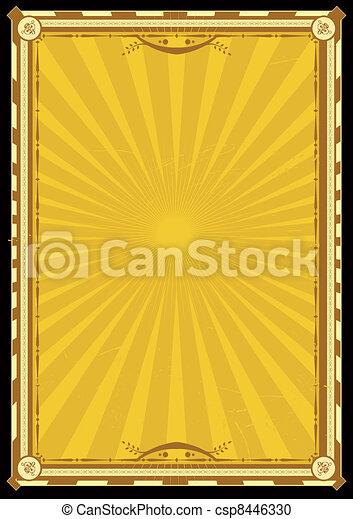 Royal Palace Vertical Poster - csp8446330