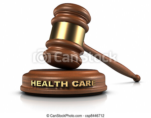 Health Care Law - csp8446712