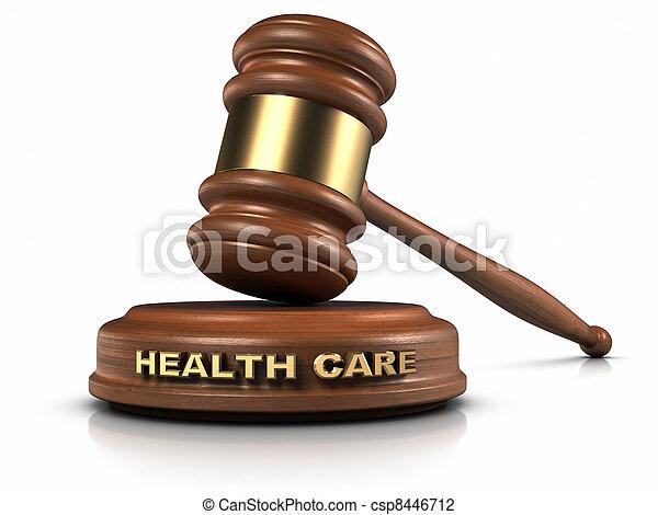 lei, cuidado saúde - csp8446712