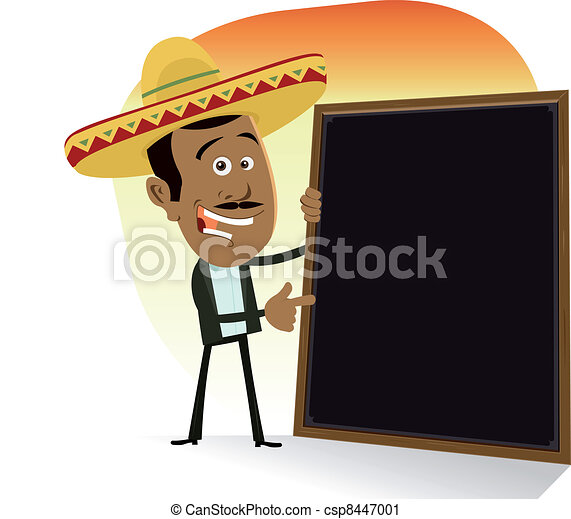 Mexican Menu - csp8447001
