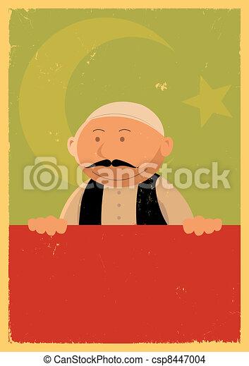 Turkish Cook Banner - csp8447004
