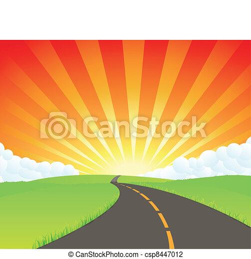 Road To Paradise - csp8447012