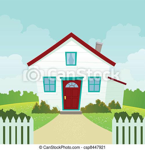 House - csp8447921