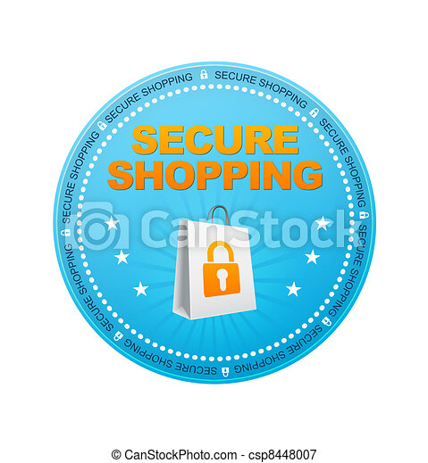 Secure Shopping - csp8448007