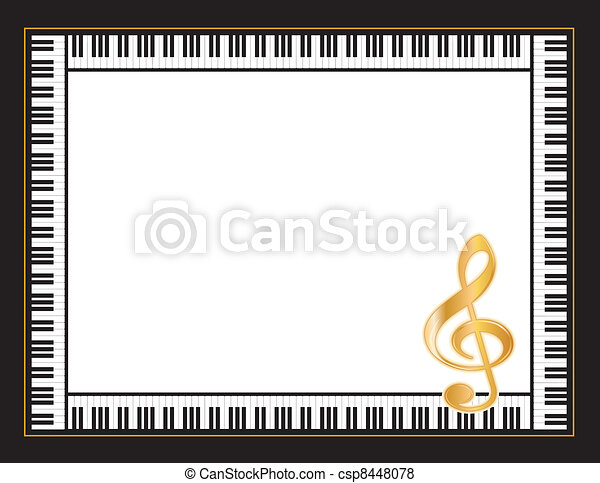 Music Entertainment Poster Frame - csp8448078