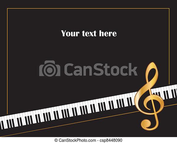 Music Entertainment Poster Frame - csp8448090