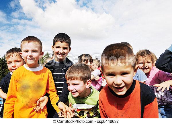 preschool  kids - csp8448637