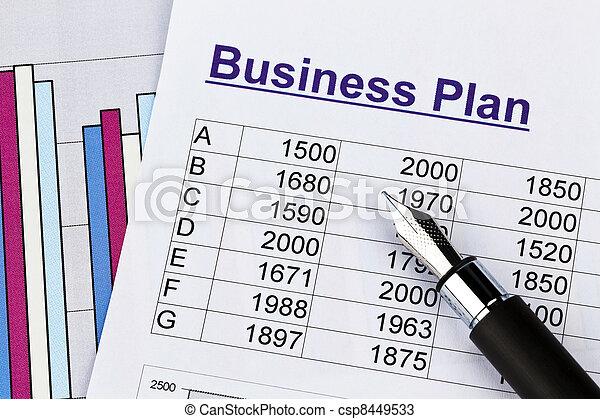 stock photos of business plan of a permanent establishment
