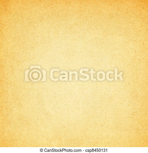 Old Aged Parchment Paper Background - csp8450131