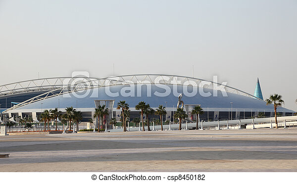 The Aspire Dome and Academy for Sports in Doha, Qatar. Photo taken at 7th of January 2012 - csp8450182