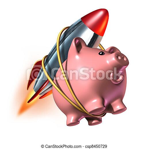 Higher Savings - csp8450729