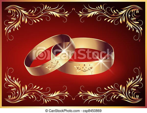 Wedding rings - csp8450869