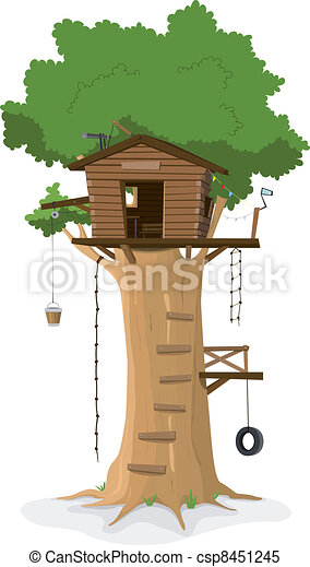 Tree House - csp8451245