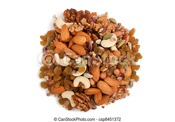 Mixed dry fruits - csp8451372