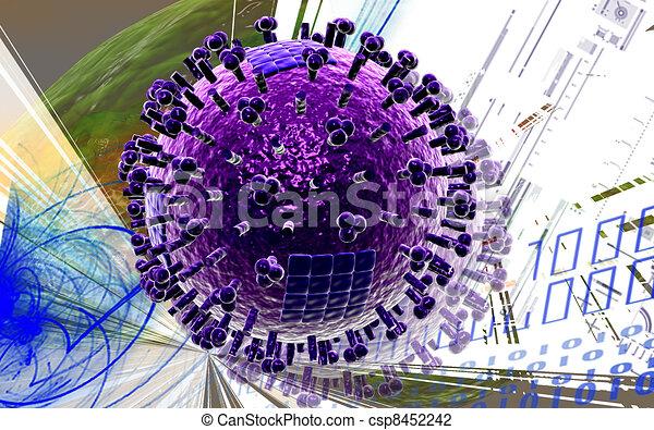 Avian Virus   - csp8452242