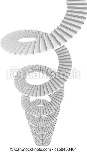 Spiral Staircase - csp8453464