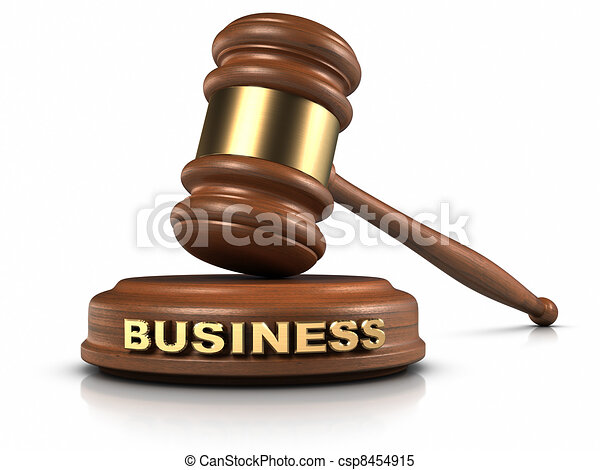 Business Law - csp8454915