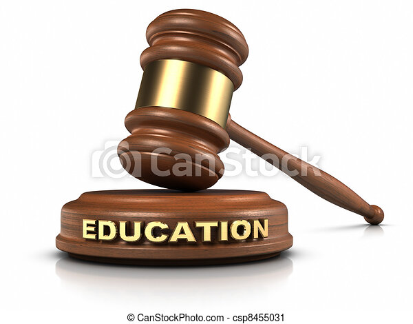 EDUCATION law - csp8455031