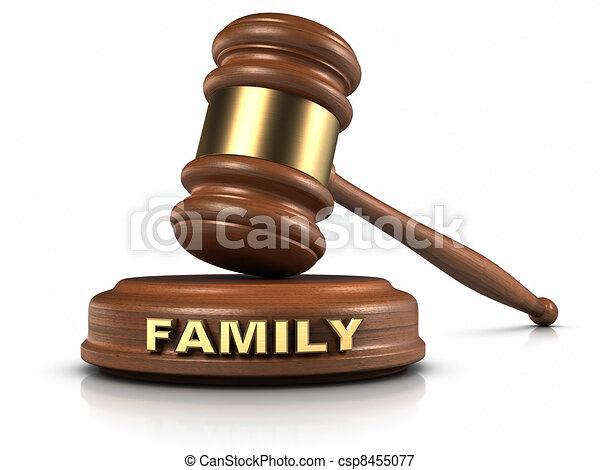 Family Law - csp8455077