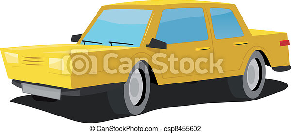 Cartoon Car - csp8455602