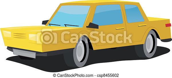 Cartoon Car - csp8455602