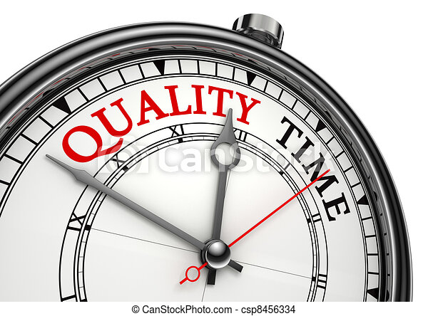 quality time concept clock - csp8456334
