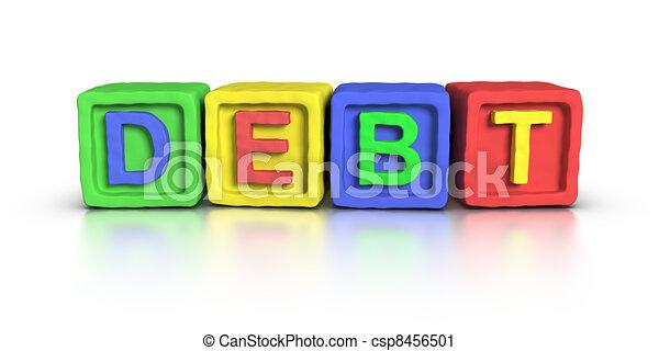 Play Blocks : DEBT - csp8456501