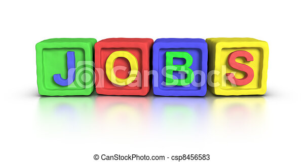 Play Blocks : JOBS - csp8456583
