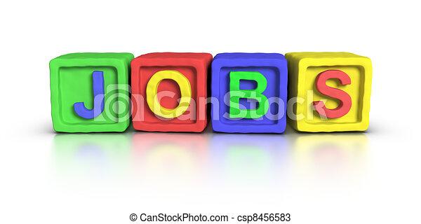 Play Blocks : JOBS - csp8456583
