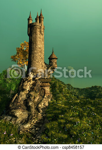The Wizards Tower - csp8458157