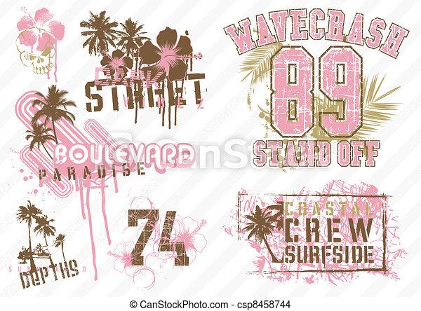 coconut street - csp8458744