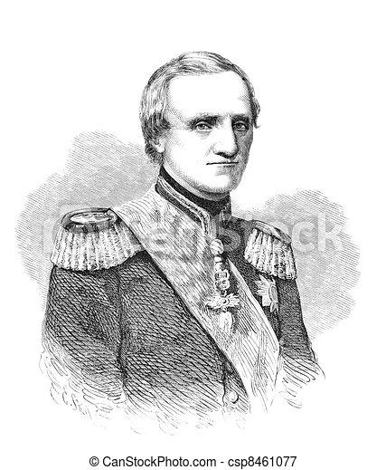 John of Saxony - csp8461077