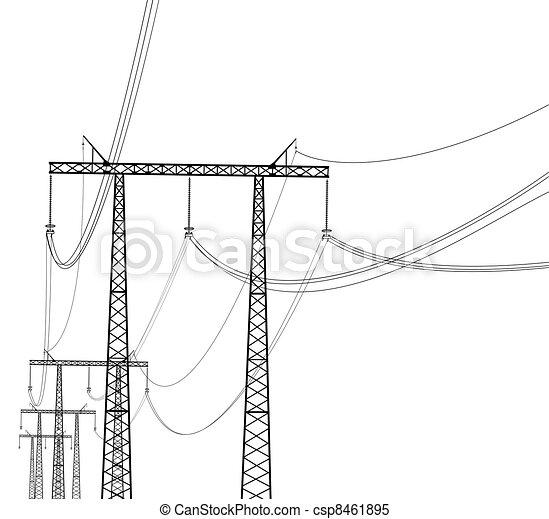 transmission line - csp8461895