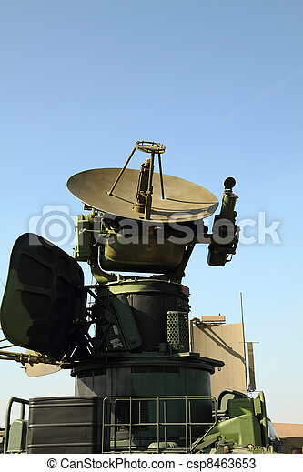 military radar station  - csp8463653