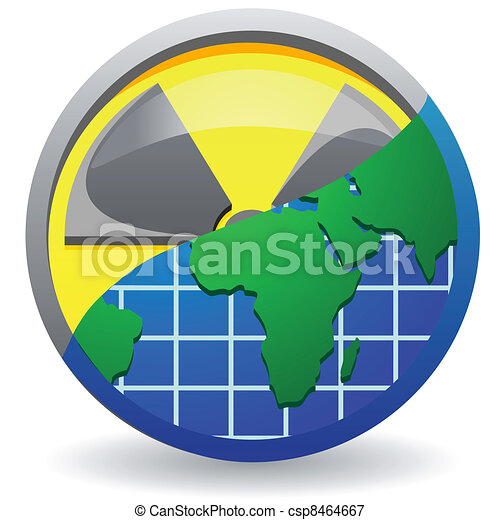sign is a radiation - csp8464667