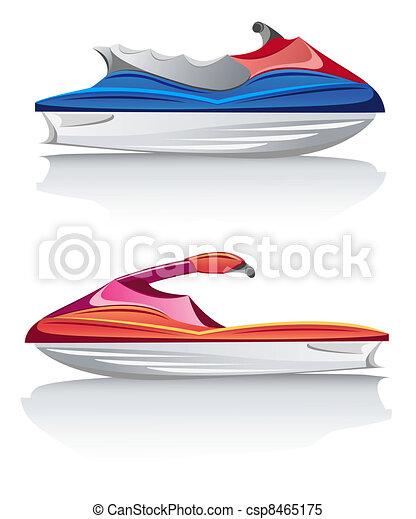 white speed yacht - csp8465175